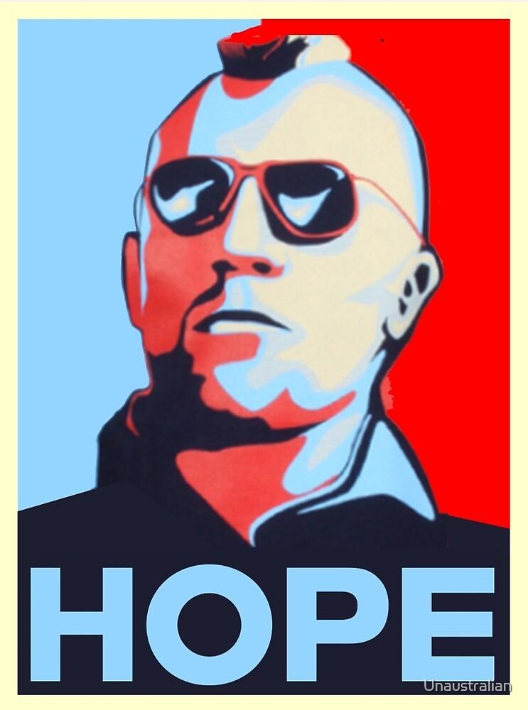 Travis Bickle: Hope by Unaustralian