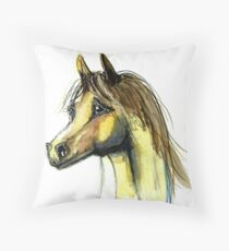 Brumby Throw Pillow