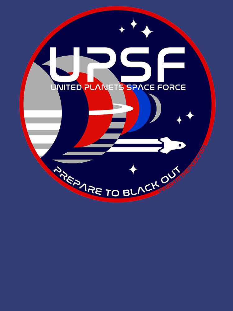 Space Force Logo - Prepare to Black Out by FinishItPod