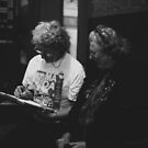 Mrs Kubota and Helper by Andrew  Makowiecki