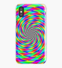 Pattern and inversion factor practice rainbows iPhone Case/Skin