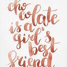 Chocolate is a girl's best friend by zephyrra
