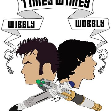 Timey Wimey Doctors by SamSteinDesigns
