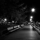 Boardwalk at Night by Sam Davis
