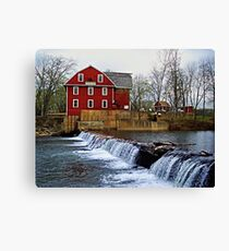 War Eagle Mills Canvas Print