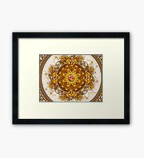 Golden Orchestra: RED Jewel V.3 Framed Print