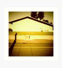 Sunny Side of the Building - Portland, Oregon Art Print