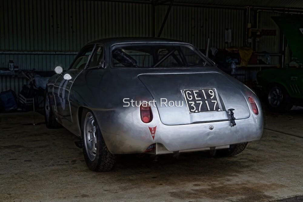1960 Alfa Romeo Giulietta SZ by Stuart Row