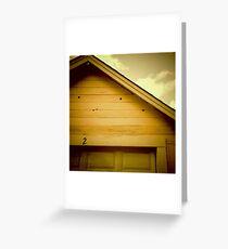 Garage #2 - Portland, Oregon Greeting Card