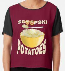 Scoopski Kartoffeln - unpraktische Joker Chiffontop