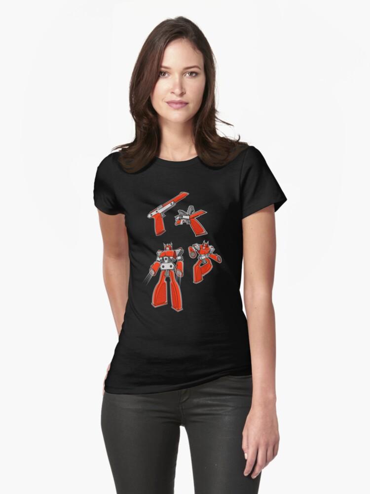 Z.A.P Wave Womens T-Shirt Front