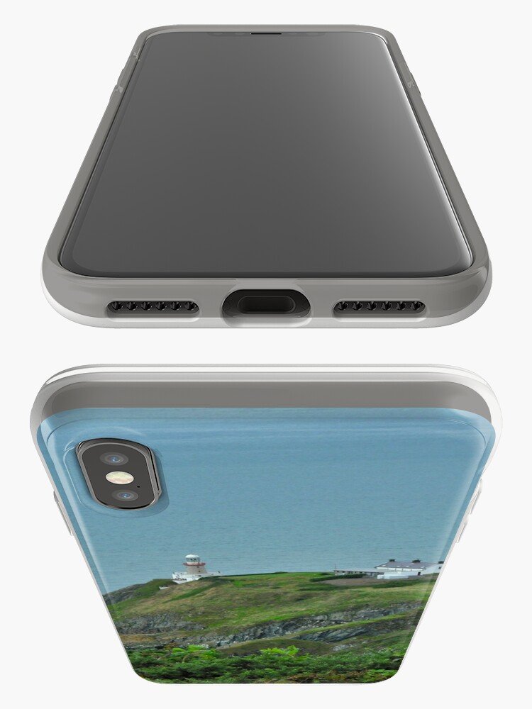 Alternate view of Howth Lighthouse - Ireland iPhone Case & Cover