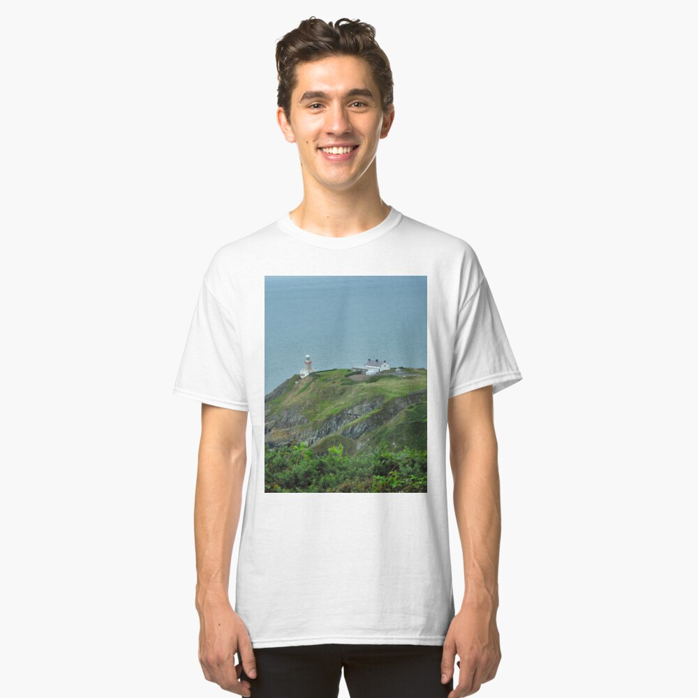 Howth Lighthouse - Ireland Classic T-Shirt