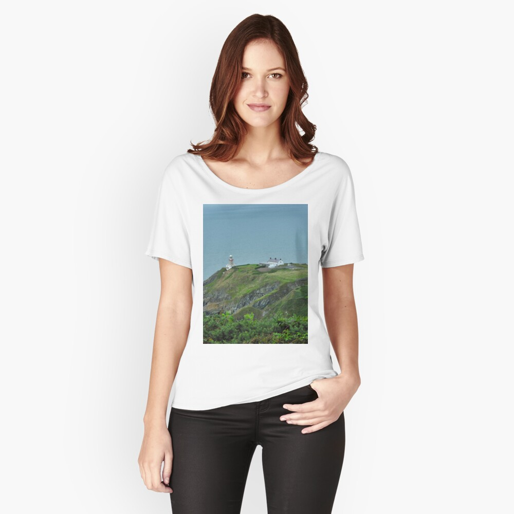 Howth Lighthouse - Ireland Relaxed Fit T-Shirt