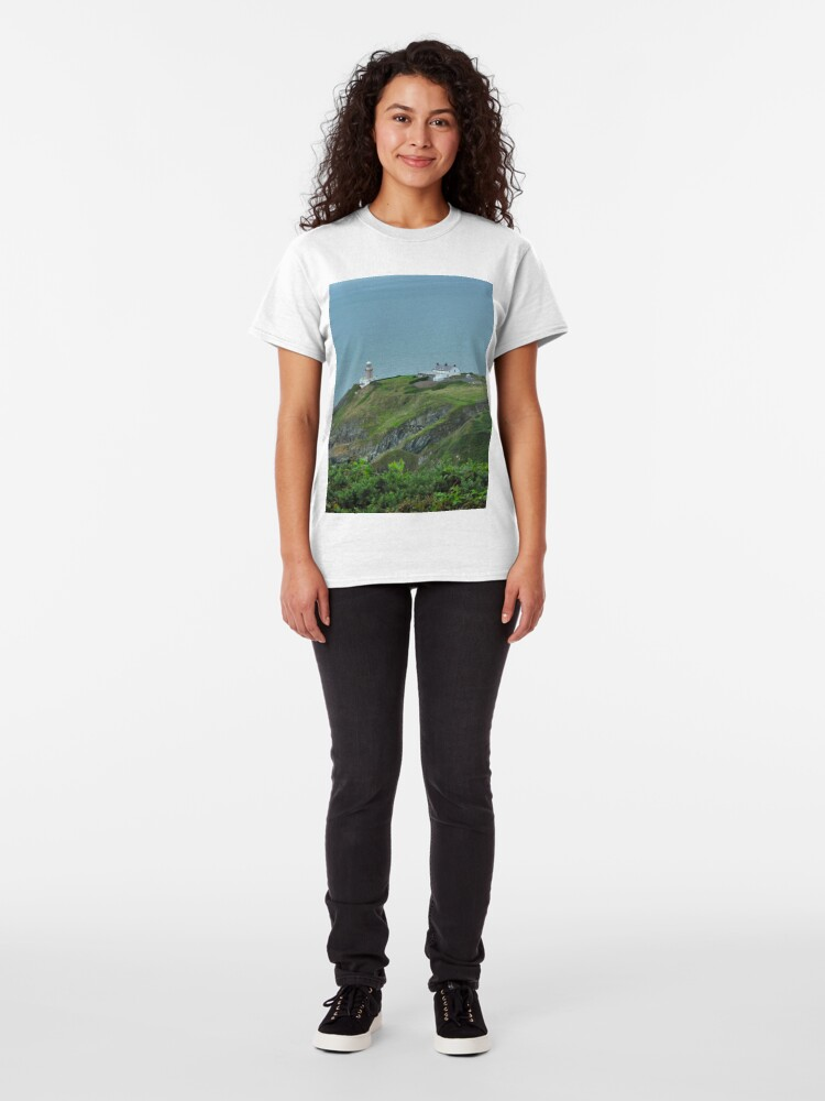 Alternate view of Howth Lighthouse - Ireland Classic T-Shirt
