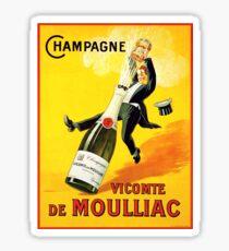 Pegatina Cartel del vino del vintage