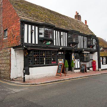 The Star Inn: Alfriston, East Sussex, UK. by DonDavisUK