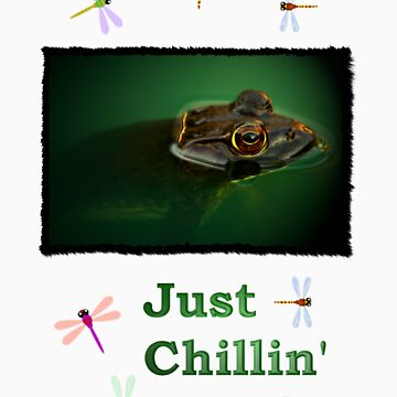 "Just Chillin"" - Bull Frog by JustShirts"
