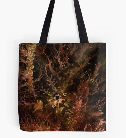 Tasselled Anglerfish Portrait Tote Bag