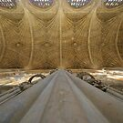 Kings College Vaulting Perspective by John Dalkin