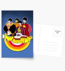 Yellow Submarine - Pop Art Postcards