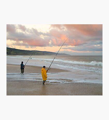 Ocean Fishing, Apollo Bay, Victoria. Photographic Print