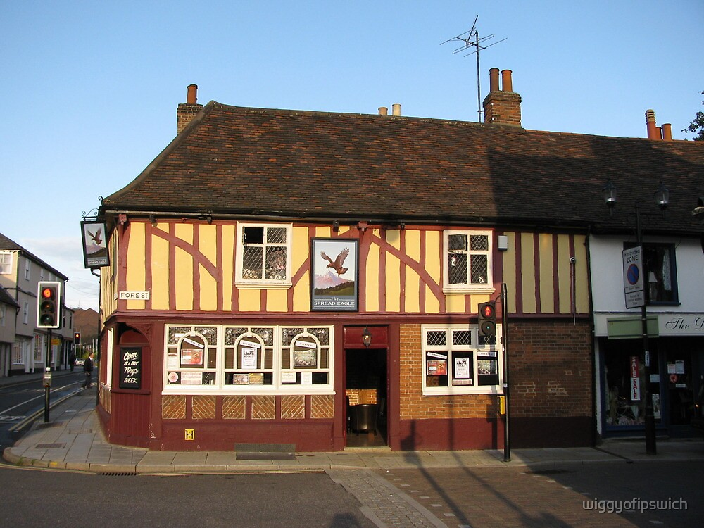 The Spread Eagle, Ipswich, Suffolk by wiggyofipswich