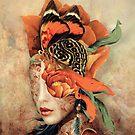 Schmetterlingsdame von RIZA PEKER