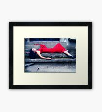 Because of you Framed Print