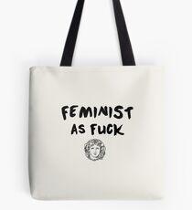 Bolsa de tela FEMINISTA como f * ck