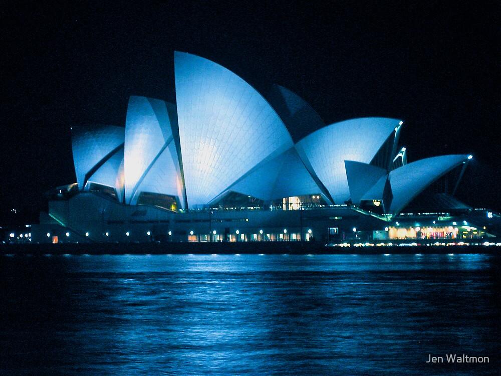 Opera in Bleu by Jen Waltmon