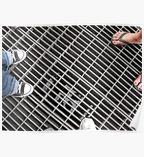 Looking Beyond the Grate Poster
