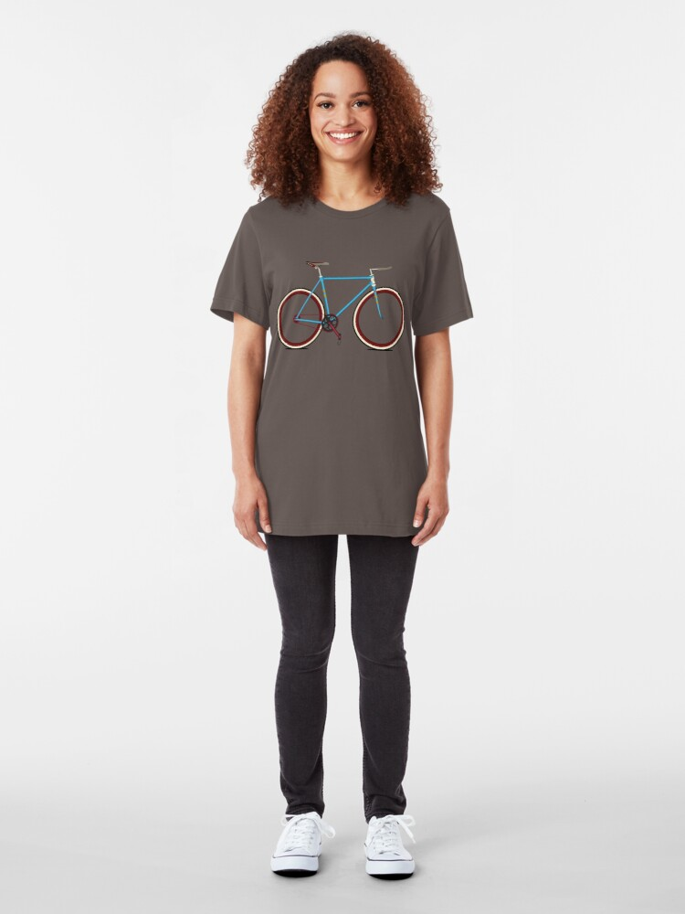 Alternative Ansicht von Bike Slim Fit T-Shirt