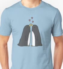 Lovely Love Penguins Unisex T-Shirt