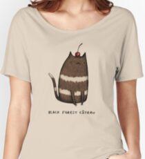 Black Forest Câteau Women's Relaxed Fit T-Shirt