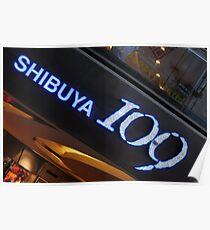 Shibuya 109 Poster