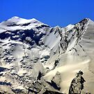 Balmhorn altitude 3699m, Altels altitude 3629m Bernese Alps, Switzerland by eveline