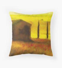 St Nicholas - Camino Santiago - Spain Throw Pillow