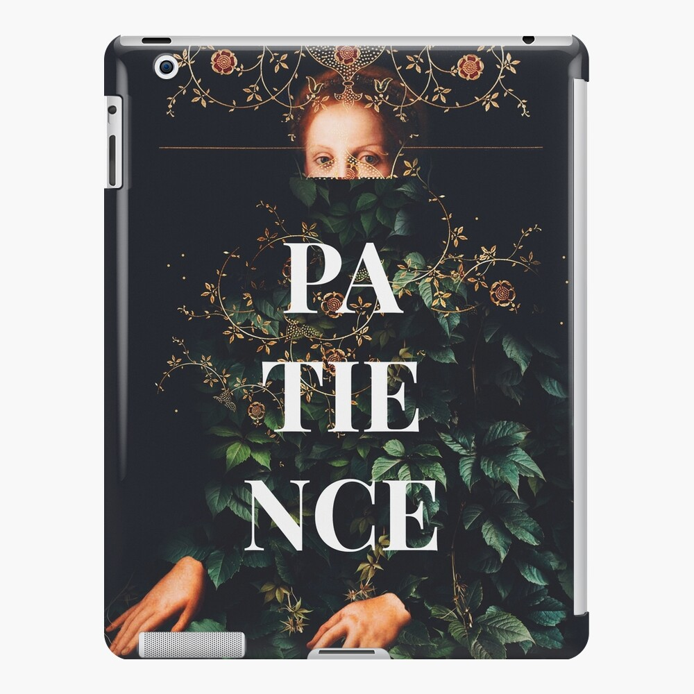 Patience iPad Case & Skin