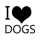 I Heart Dogs, I Love Dogs by tribbledesign