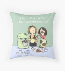 Baking Advice Throw Pillow
