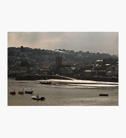 Twilight Harbour Photographic Print