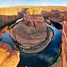 Colorado River and Horseshoe Bend by Gregory Ballos