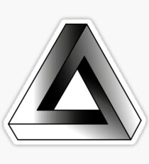 Endless Triangle  Sticker