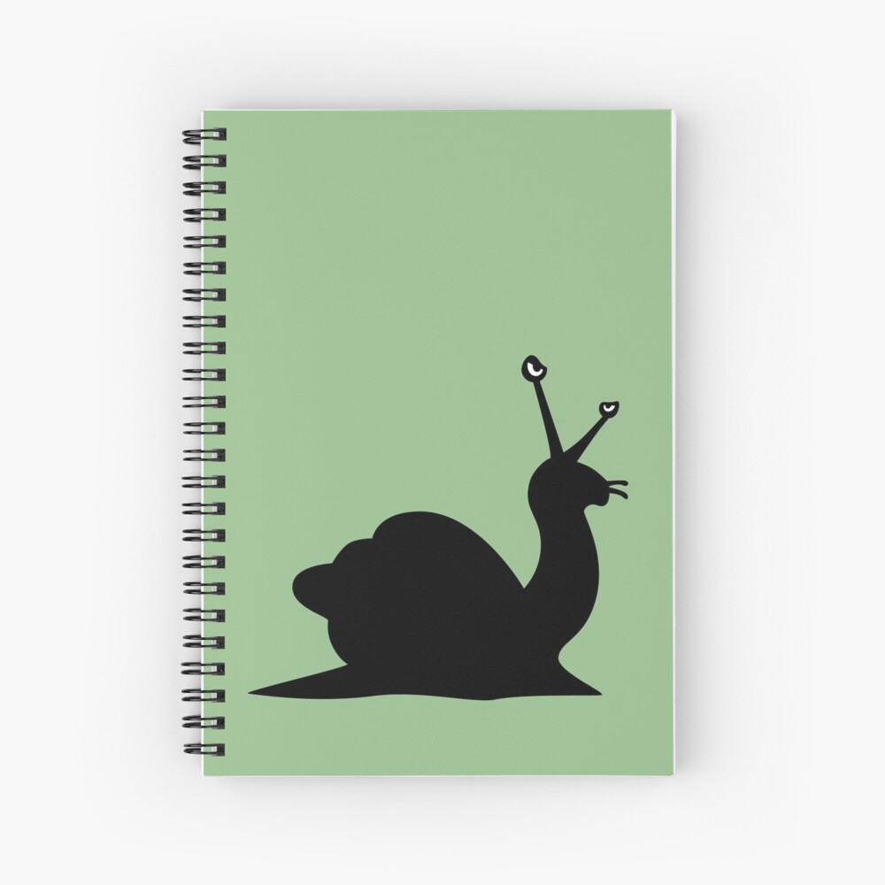 Angry Animals - Snail Spiral Notebook