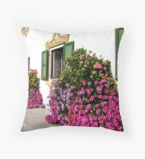 Farmhouse in Upper Bavaria Throw Pillow