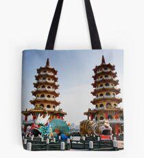 蓮池湖 高雄 Tote Bag