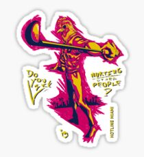 Do You Like Hurting Other People? [Hotline Miami] Sticker