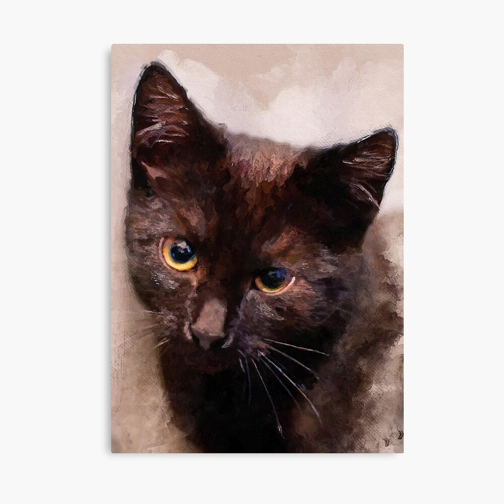 Cat Hera #cat #kitty Canvas Print