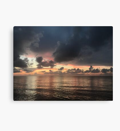 Calm Before the Storm (Pictures of Mexico) Canvas Print
